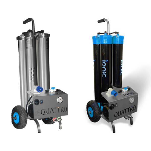 Quattro portable systems