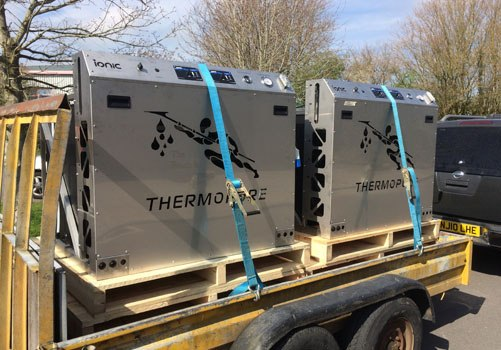 Thermopure systems being delivered