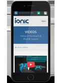 Ionic videos