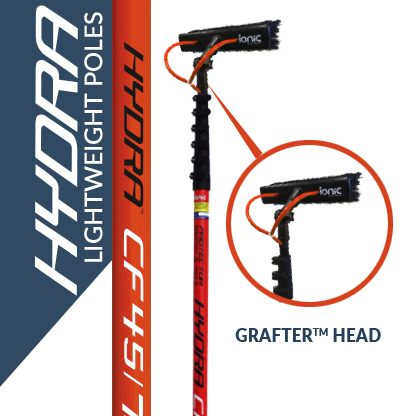 Hydra lightweight poles with the Grafter head
