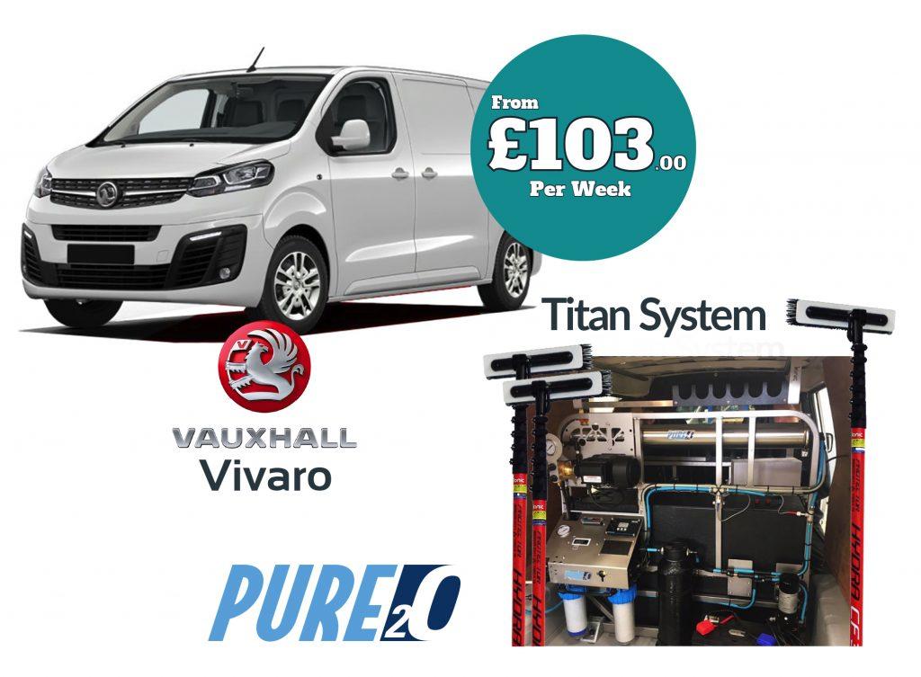 Vauxhall Vivaro Titan system finance package