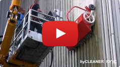 Video post about the hyCLEANER red series system