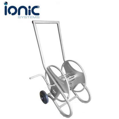 Ionic stainless steel hose reel
