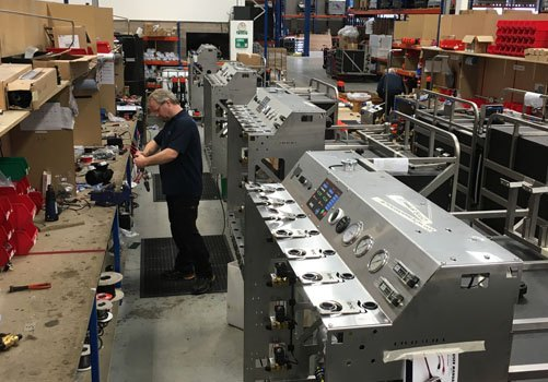 Ionic Systems warehouse where the systems get manufactured