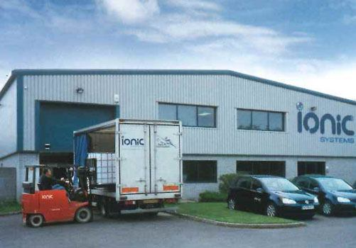 Ionic Systems building and warehouse