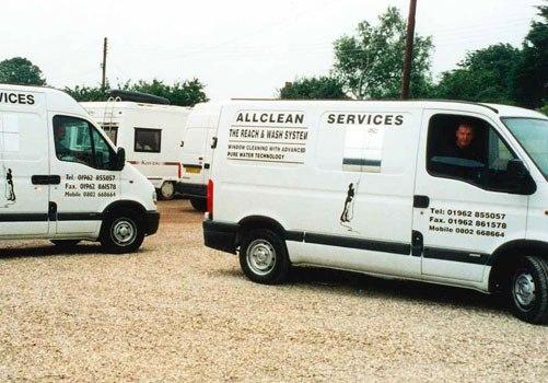 Fleet of customer vehicles