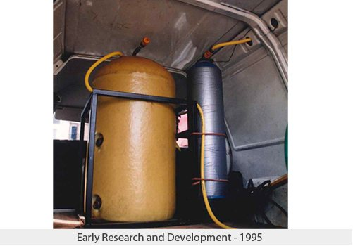 Early research and development - 1995