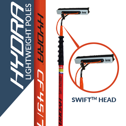 Hydra Water fed poles