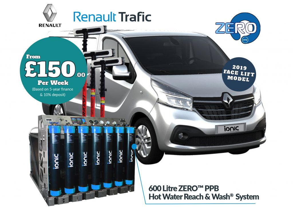 Renault Trafic and Zero system finance package