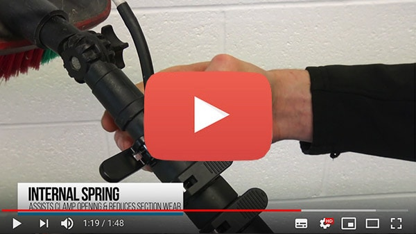 Video about the Ionic Systems clamps