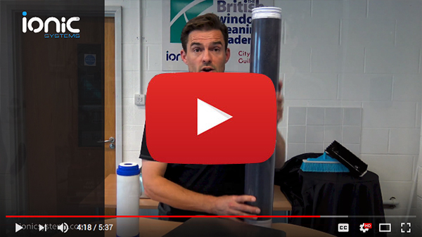 Video post about the filters of a window cleaning system