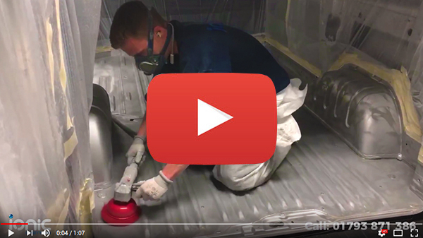 Video post about preparing vehicle floor for protection