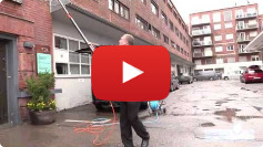 Video post from Norway about window cleaning