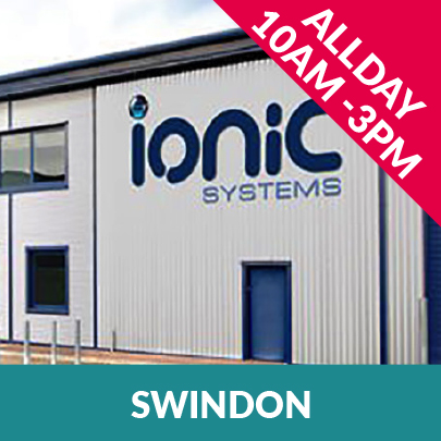 Ionic Systems Roadshow 2019 will be at Swindon