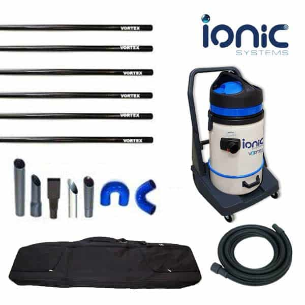 Vortex gutter vacuum kit - mid range