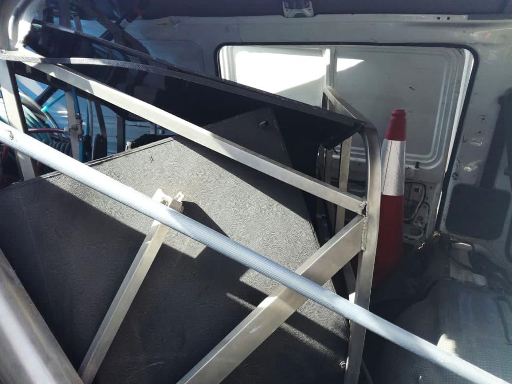 Reach & Wash® System Crash Testing
