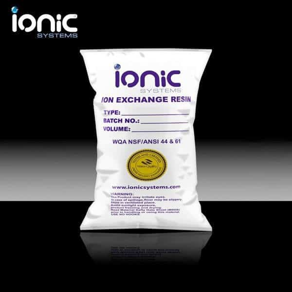 25L Ionic water softening resin