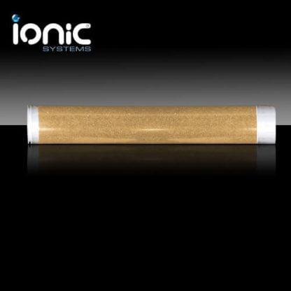 Ionic water softening filter cartridge