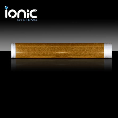 Ionic de-ionisation filter cartridge