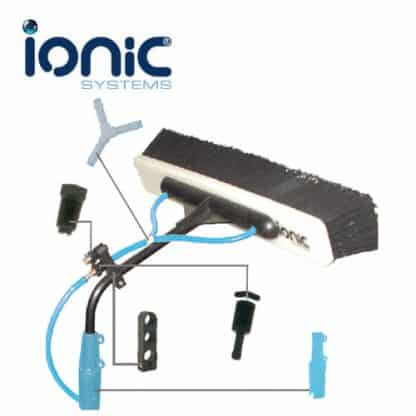 Ionic commercial head components