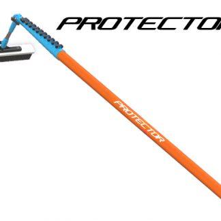 Protector pole handle