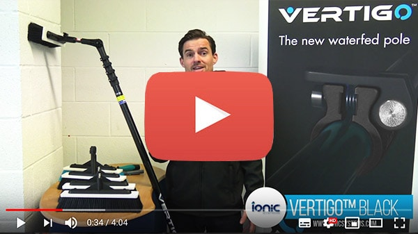 Video post about the Vertigo waterfed pole products